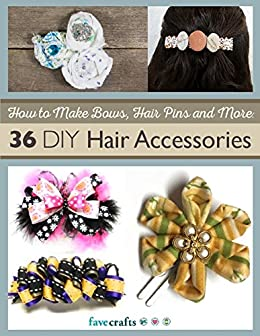 how to make hair pins at home