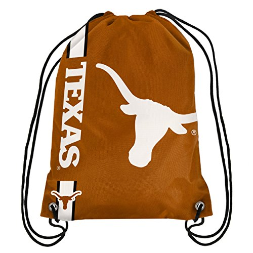NCAA Texas Longhorns Big Logo Drawstring Backpack, 18 In. X