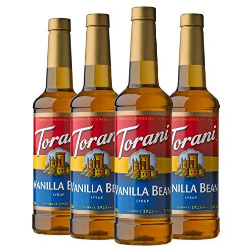 Torani Syrup, Vanilla Bean, 25.4 Ounces (Pack of - Bean 4
