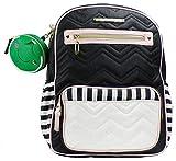 Betsey Johson Backpack Diaper Bag Black Multi BBD1625
