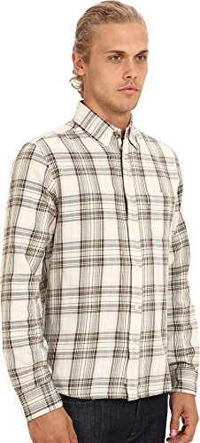 Diesel Men's S-Watis Shirt,  Cream, XX-Large