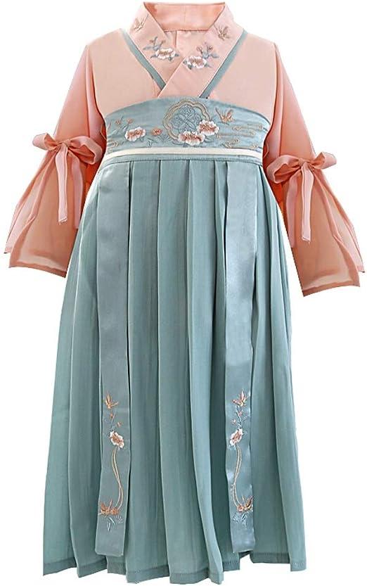 Ropa para niños Vestido de Falda de la República de China, Traje ...
