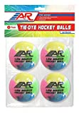 A&R Sports Tie-Dye Hockey Balls (Pack of 4)