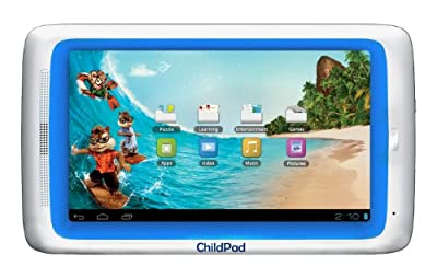 Archos Childpad 7-inch Tablet Whiteblue Trim from Archos