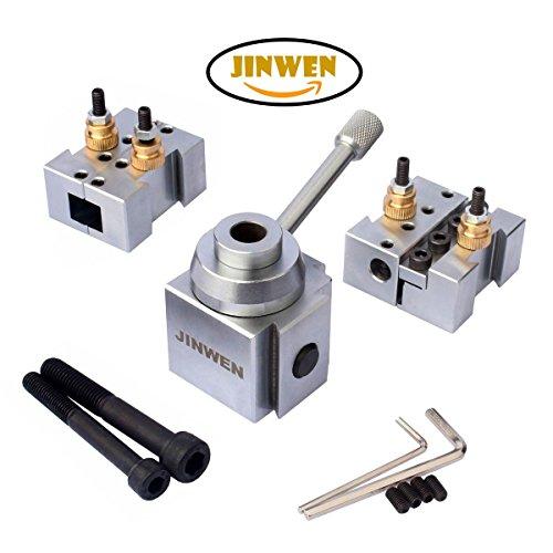 Jinwen 120018 Tooling Package Mini Lathe Quick Change Tool Post & Holders Multifid Tool Holder (Steel) by JINWEN (Image #2)