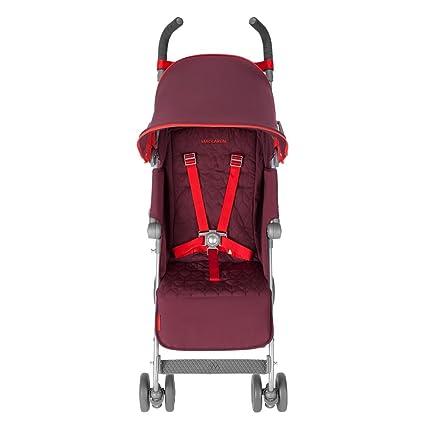 Maclaren Quest - Silla de paseo, Borgoña/Rojo