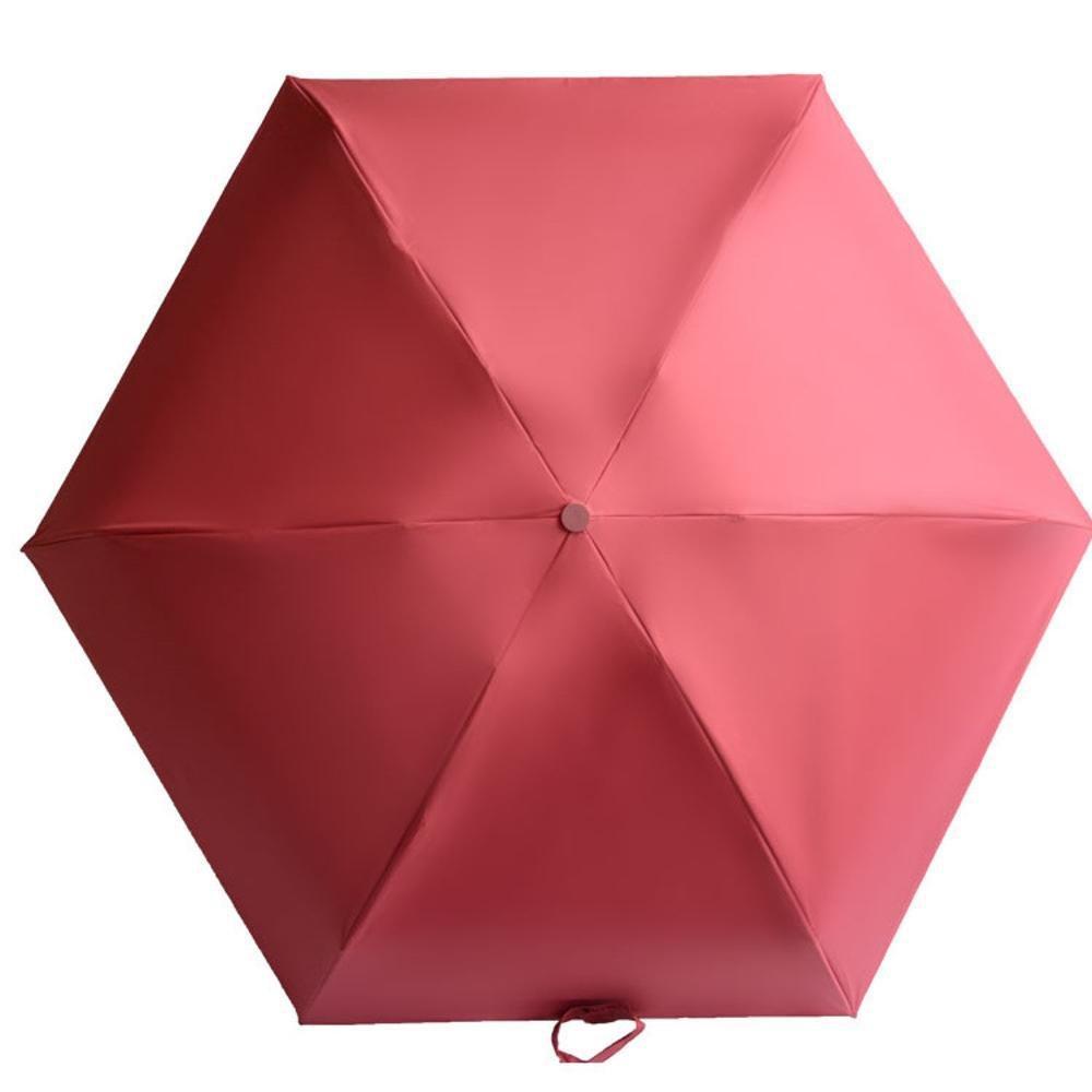 BiuTeFang Paraguas Ultralight mini paraguas cápsula paraguas bolsillo paraguas bolsillo paraguas plegable 52x100cm: Amazon.es: Hogar
