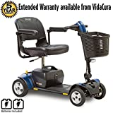 Pride Go-Go Elite Traveller Plus Travel Scooter, 3 or 4-Wheel w/ Avail Ext Warr (4 Wheel Scooter)