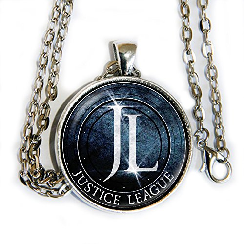 Doom Adults Legion Of Costume For (Justice League logo pendant necklace -)