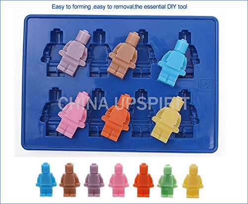 New Coming Fondant Tools Robot Silicon Mould Cake Ice Chocolate Molds Bakeware Baking Tools For Cake Decorating Soap (The Avengers Thor Elite Adult Costume)
