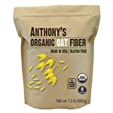 Anthony's Organic Oat Fibre, Batch Tested Gluten Free, Non-GMO, 680g