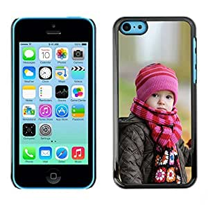 LASTONE PHONE CASE / Slim Protector Hard Shell Cover Case for Apple Iphone 5C / Cute Baby in Autumn by ruishername