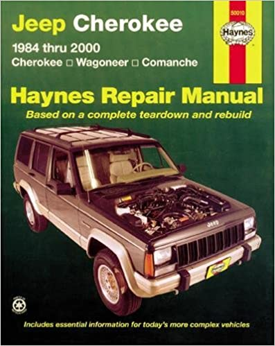 Jeep cherokee wagoneer comanche 1984 2001 haynes repair manuals jeep cherokeewagoneercomanche1984 2001 haynes repair manuals 1st edition fandeluxe Choice Image