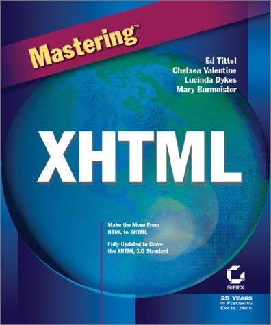 Mastering XHTML