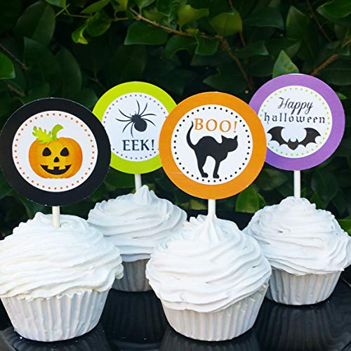 Halloween Cupcake Toppers Picks (12pc) ()