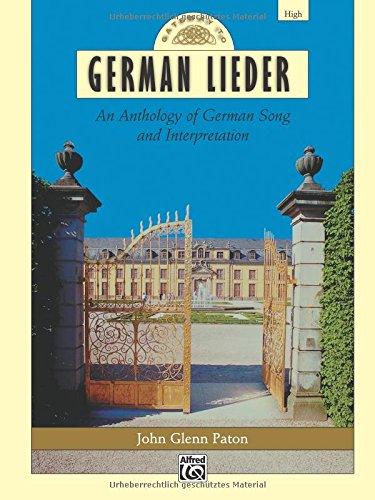 Gateway to German Lieder: High Voice, Comb Bound Book (Gateway Series) (German Edition)