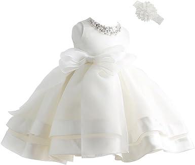 Toddler Baby Christening Party Birthday Prom Occasion Wedding Flower Girls Dress