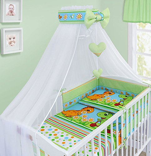BABY CANOPY DRAPE MOSQUITO NET WITH HOLDER TO FIT COT /& COT BED NEW DESIGNS LADDER PINK