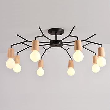 PLLP Lámparas de Estilo nórdico, Modernas lámparas de Techo ...