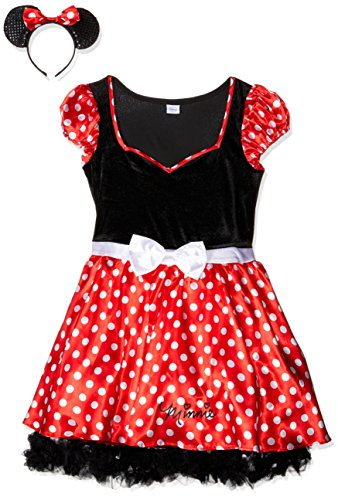 Rubie's Official Costumes sassy Minnie Mouse, Adult Costume - Small,