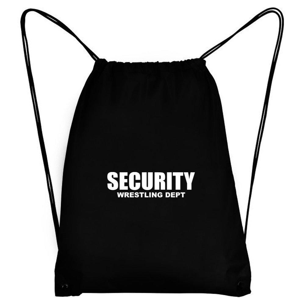 Teeburon SECURITY Wrestling DEPT Sport Bag by Teeburon