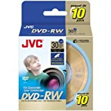 JVC 2x Mini DVD-RW Media (VDW14G10SP)