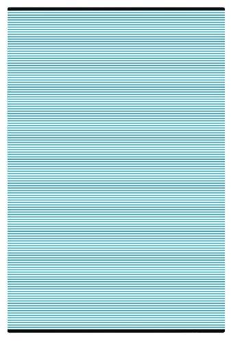Recycled Outdoor Rugs - Green Decore Stripes Outdoor/Plastic / Reversible Eco Rug (6 x 9, Aqua)