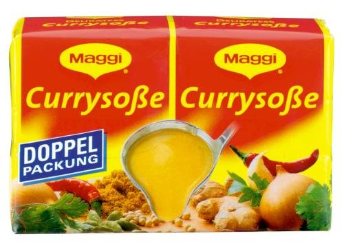 Maggi delikatess doble Pack Curry salsas, 18 pack (18 x 500 ml de cartón
