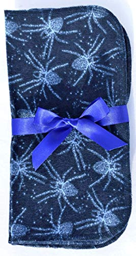 1 Ply Printed Flannel 9x9 Inches Little Wipes Set of 5 Itsy Bitsy Spider