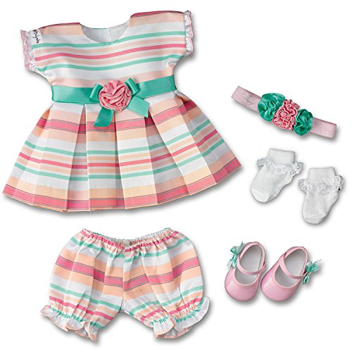 The Ashton-Drake Galleries Party Princess Baby Doll Accessory Set: Dress Clothes Set For So Truly Mine Dolls by