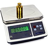 7 LB x 0.0002 LB MCT-7 Medium Counting Scale, 7.5 x 10 Platter Size by LW Measurements, LLC