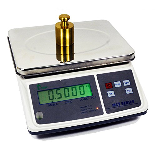 66 LB x 0.002 LB MCT-66 Medium Counting Scale, 7.5'' x 10'' Platter Size by LW Measurements, LLC