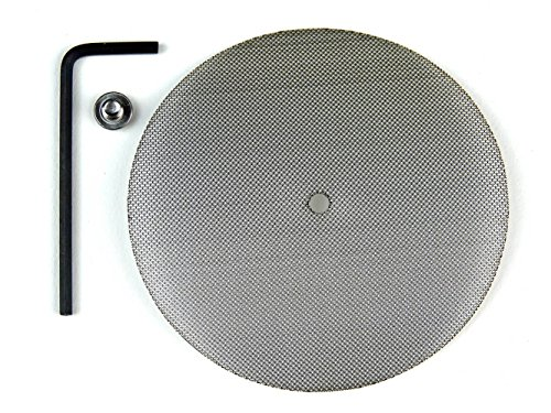Medium Grinder Screen Replacement - Official Phoenician Medical Grade Stainless Steel Rebuild Accessories Kit for Herb Grinders - Made in USA (Coarse) (Replacement Tobacco Screens)