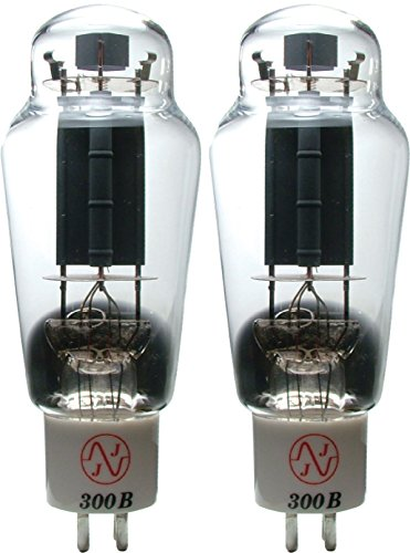 JJ Electronics T-300B-JJ-MP Vacuum Tube Triode Matched Pair by JJ Electronic