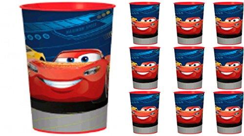 Disney Cars 3 Favor Cups Set of (Cars Plastic Cups)