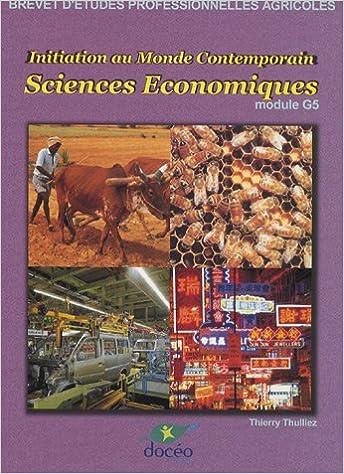 Sciences Economiques Module G5 BEP Agricoles : Manuel de cours pdf ebook
