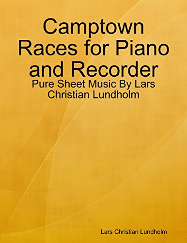 Camptown Races for Piano and Recorder - Pure Sheet Music By Lars Christian Lundholm