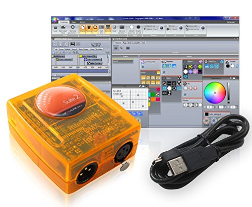 Basic Class Sunlite Suite 2 DMX USB Lighting Interface Controller By  Nicolaudie ...