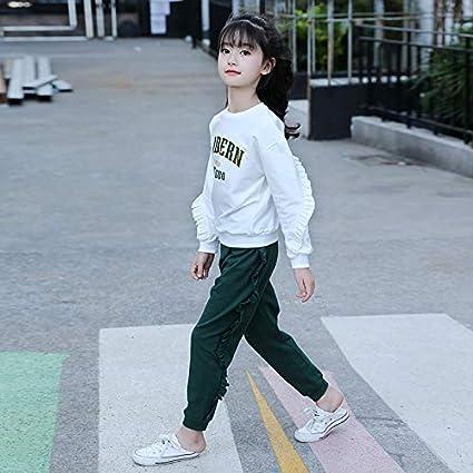 MV Girls Autumn Suit New Korean Casual Suit Ladies Shirt Trousers Cotton Two-Piece