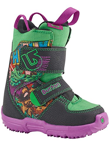Burton Marvel Youth Mini Grom Hulk Snowboard Boots in Box - Mini Burton