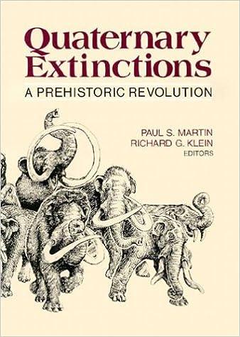 Quaternary extinctions a prehistoric revolution paul s martin quaternary extinctions a prehistoric revolution fandeluxe Gallery