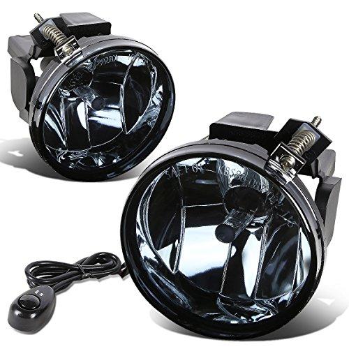 For Dodge Dakota/Durango Pair of Bumper Driving Fog Lights + Switch (Smoke Lens) ()