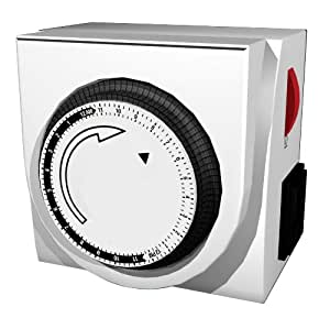 Westinghouse T00448 2-Outlet Indoor Mechanical Timer, White