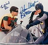 The Original Batman & Robin with Adam West & Burt Ward Signed Autographed 8 X 10 Reprint Photo - Mint Condition