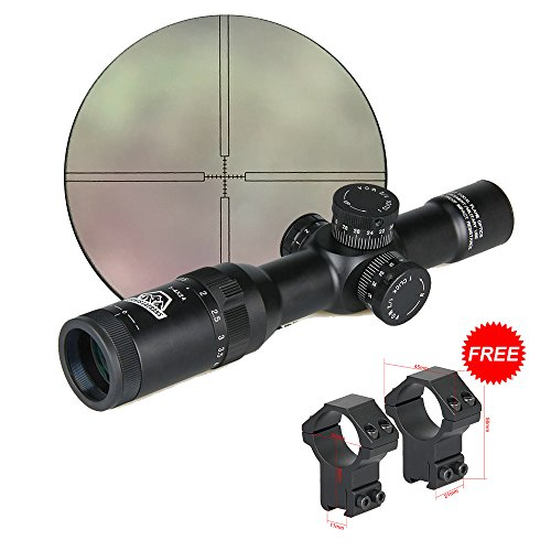 Canis Latran 1-4x24 IRF Rifle Scope for Hunting