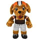 NFL Cleveland Browns Chomps Mascot Plush Figure, 10″