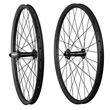 ICAN 27.5er All Season Wide Tire Fat Bike Carbon Wheelset 50mm Wide Clincher Tubeless Ready Rim Shimano 10/11 Speeds