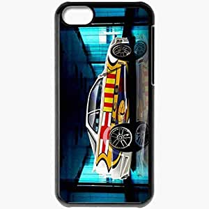 Personalized iPhone 4/4s Cell phone Case/Cover Skin Acura Integra With Barca Logo FC Barcelona Football Black