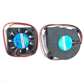 Impresora 3D Ventilador Ventilador Ventilador DC 24V 40x10 50x15 Extrusora Ventilador de enfriamiento (30cm) Eewolf
