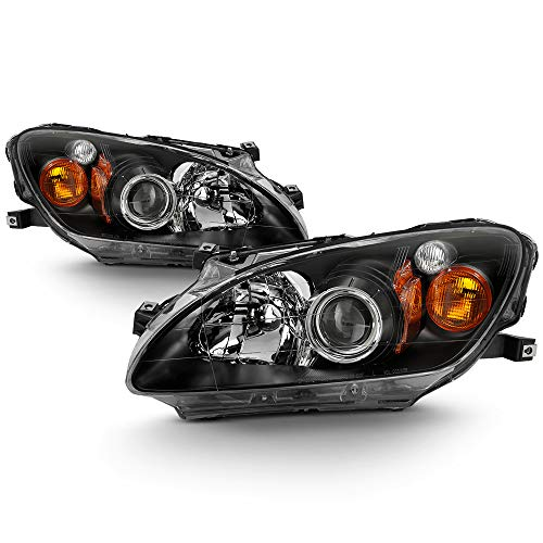 ACANII - For 2000-2003 Honda S2000 Headlights Upgrade Style Projector Headlights Replacement Driver & Passenger Side